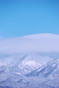 雪山の写真素材 [FYI03918765]