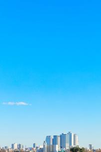 名古屋駅周辺の高層ビルと町並みの写真素材 [FYI03919300]