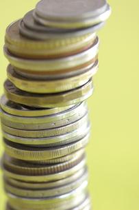多国籍コインの写真素材 [FYI03919597]