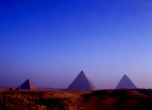 ピラミッドの写真素材 [FYI03920291]