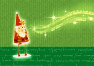 サンタクロースのクリスマスイメージの写真素材 [FYI03920576]