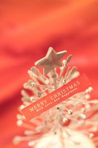 ワイヤーのクリスマスツリーの写真素材 [FYI03920671]