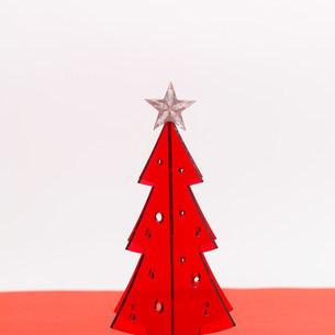 クリスマスツリーのイメージの写真素材 [FYI03920684]