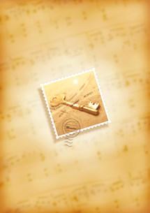 切手 コラージュの写真素材 [FYI03921453]