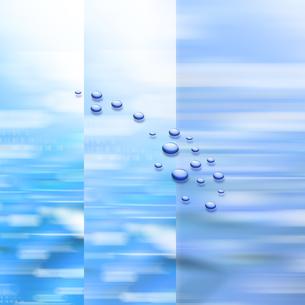 水滴イメージのイラスト素材 [FYI03921571]