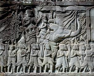 アンコール・トム バイヨン寺院の写真素材 [FYI03921589]