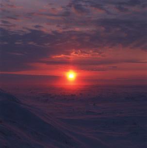 バローの太陽の写真素材 [FYI03922682]
