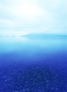 支笏湖の写真素材 [FYI03922938]