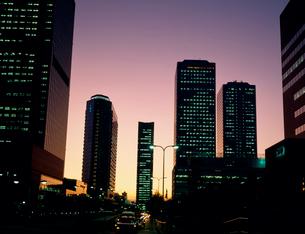 大阪ビジネスパーク(夕景)の写真素材 [FYI03924463]