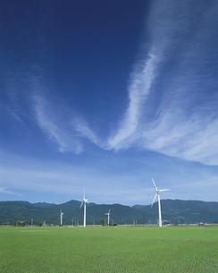風力発電の写真素材 [FYI03924597]