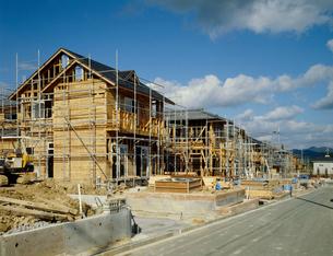住宅建設の写真素材 [FYI03924652]