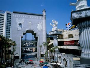 ハリウッドとハイランドの写真素材 [FYI03924784]