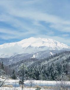 野麦峠より望む乗鞍岳の写真素材 [FYI03924914]