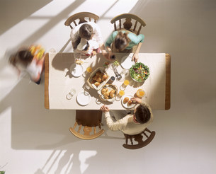 飲食イメージ 俯瞰の写真素材 [FYI03925177]