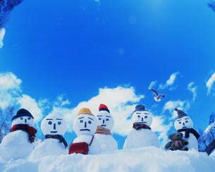 雪だるまの写真素材 [FYI03925421]