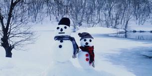 雪だるまの写真素材 [FYI03925425]