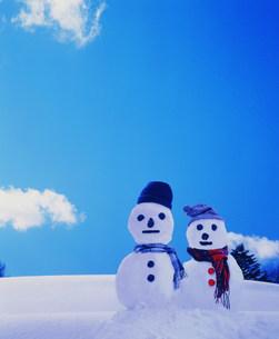雪だるまの写真素材 [FYI03925426]