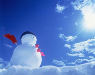 雪だるまの写真素材 [FYI03925603]