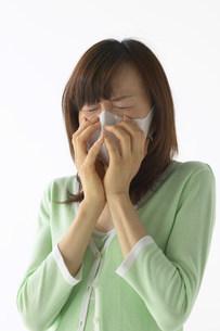 マスクをした女性の写真素材 [FYI03926079]
