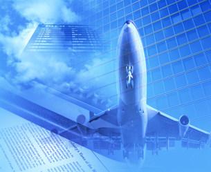 ビジネスイメージ  ジェット機の写真素材 [FYI03927251]