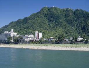 長良川と金華山の写真素材 [FYI03930039]