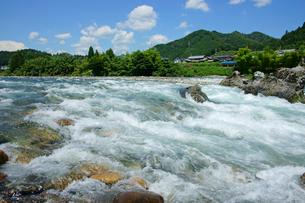 長良川の渓流の写真素材 [FYI03930229]