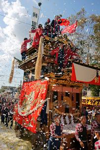 挙母祭り 挙母神社の写真素材 [FYI03930283]
