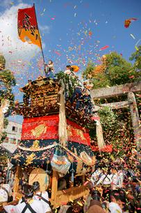 挙母祭り 挙母神社の写真素材 [FYI03930286]