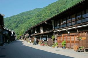 中山道 奈良井宿の写真素材 [FYI03930499]