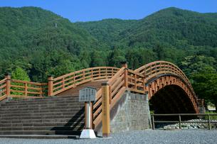 中山道 木曽の大橋・奈良井宿の写真素材 [FYI03930500]