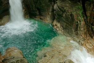 龍神の滝・夕森公園の写真素材 [FYI03930571]