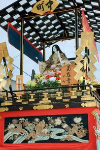 上野天神祭 中町の印(しるし)・菊慈童(きくじどう)の写真素材 [FYI03930692]