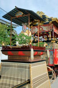 上野天神祭 新町の印(しるし)・白楽天(はくらくてん)の写真素材 [FYI03930694]
