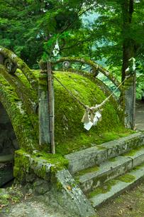 洲原神社 神橋の写真素材 [FYI03930729]