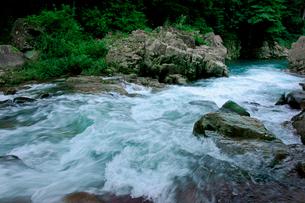 長良川・急流の写真素材 [FYI03930780]