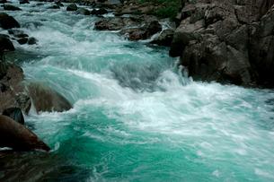 長良川・急流の写真素材 [FYI03930803]