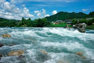 長良川の早瀬の写真素材 [FYI03930871]