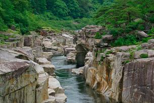 寝覚の床 木曽川の写真素材 [FYI03931258]