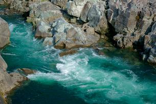 中山七里 飛騨川の写真素材 [FYI03931392]