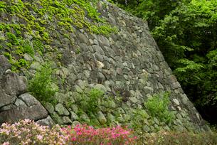 松坂城 きたい丸の隅櫓石垣の写真素材 [FYI03931886]