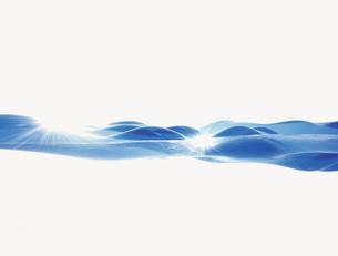 波打つ水面イメージ CGのイラスト素材 [FYI03932290]