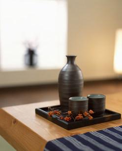 日本酒のイメージの写真素材 [FYI03933019]