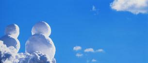 雪だるまの写真素材 [FYI03933036]