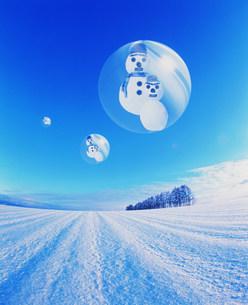 雪だるまのイラスト素材 [FYI03933044]