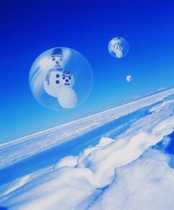 雪だるまの写真素材 [FYI03933045]