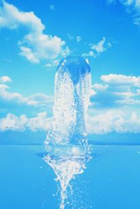 水と風景イメージの写真素材 [FYI03933060]