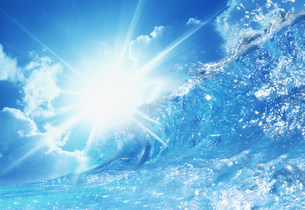水のイメージの写真素材 [FYI03933244]