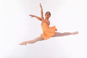 バレエイメージの写真素材 [FYI03933478]