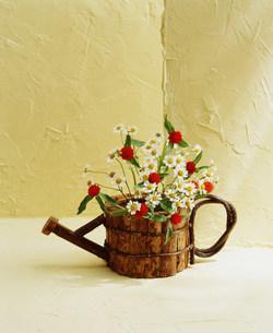 花瓶の花の写真素材 [FYI03933862]