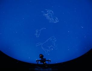 プラネタリウム 星座の写真素材 [FYI03934048]